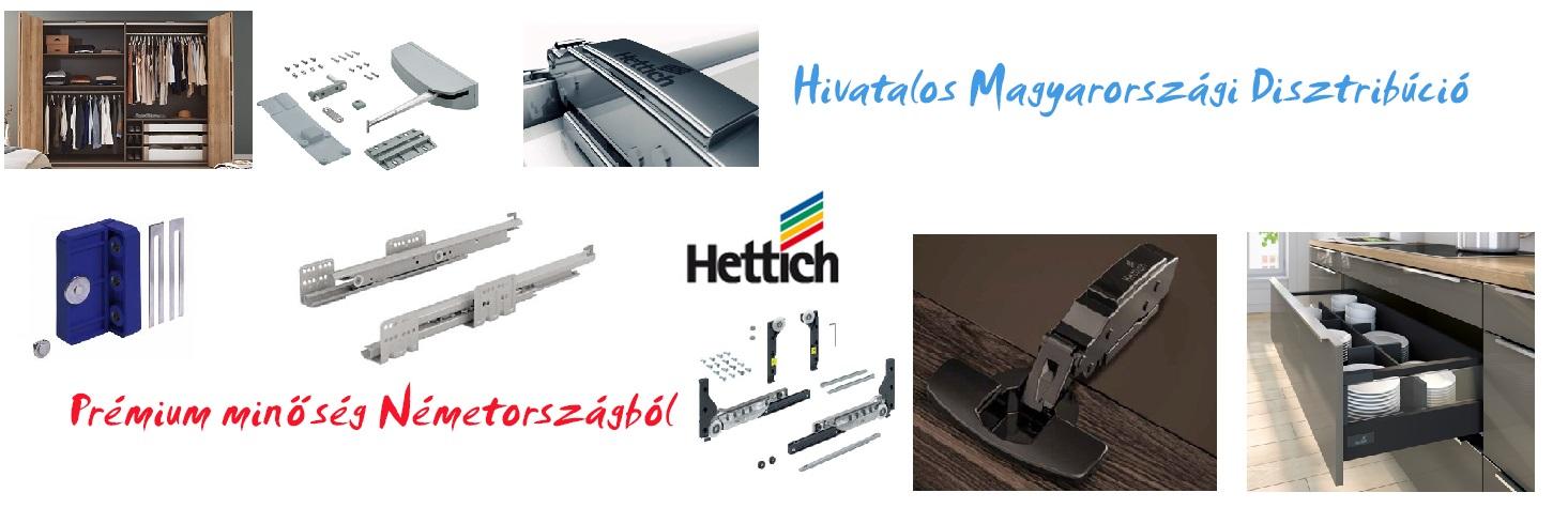 Hettich - Prémium minőség Németországból